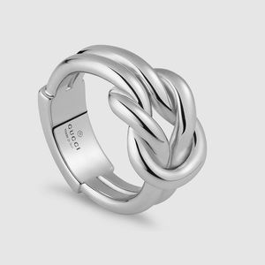 Gucci Love Knot Piccolo Ring Sterling Silver 13